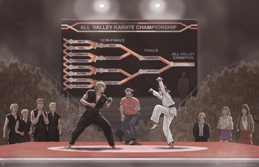 Karate Kid by PJ McQuade