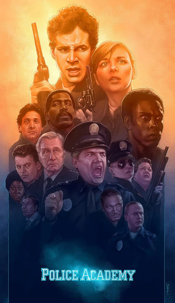 Police Academy by Barret Chapman