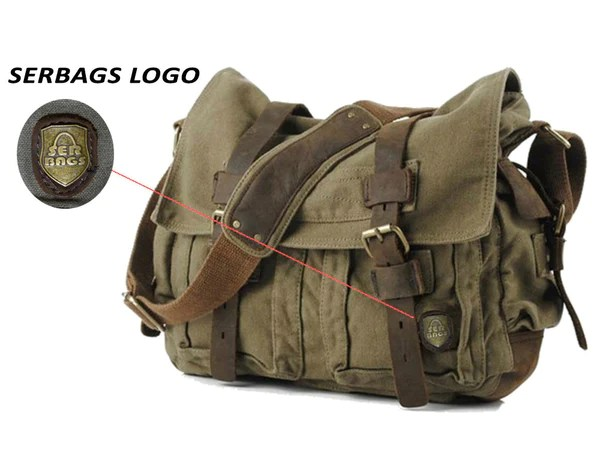 Canvas Military Messenger Bag for only 8999  Serbags