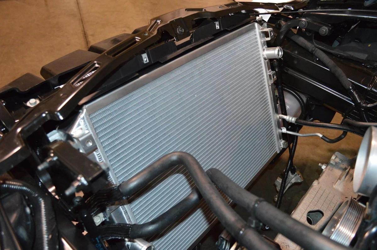 hight resolution of dewitts competition radiator c7 corvette z06 lt1 lt4