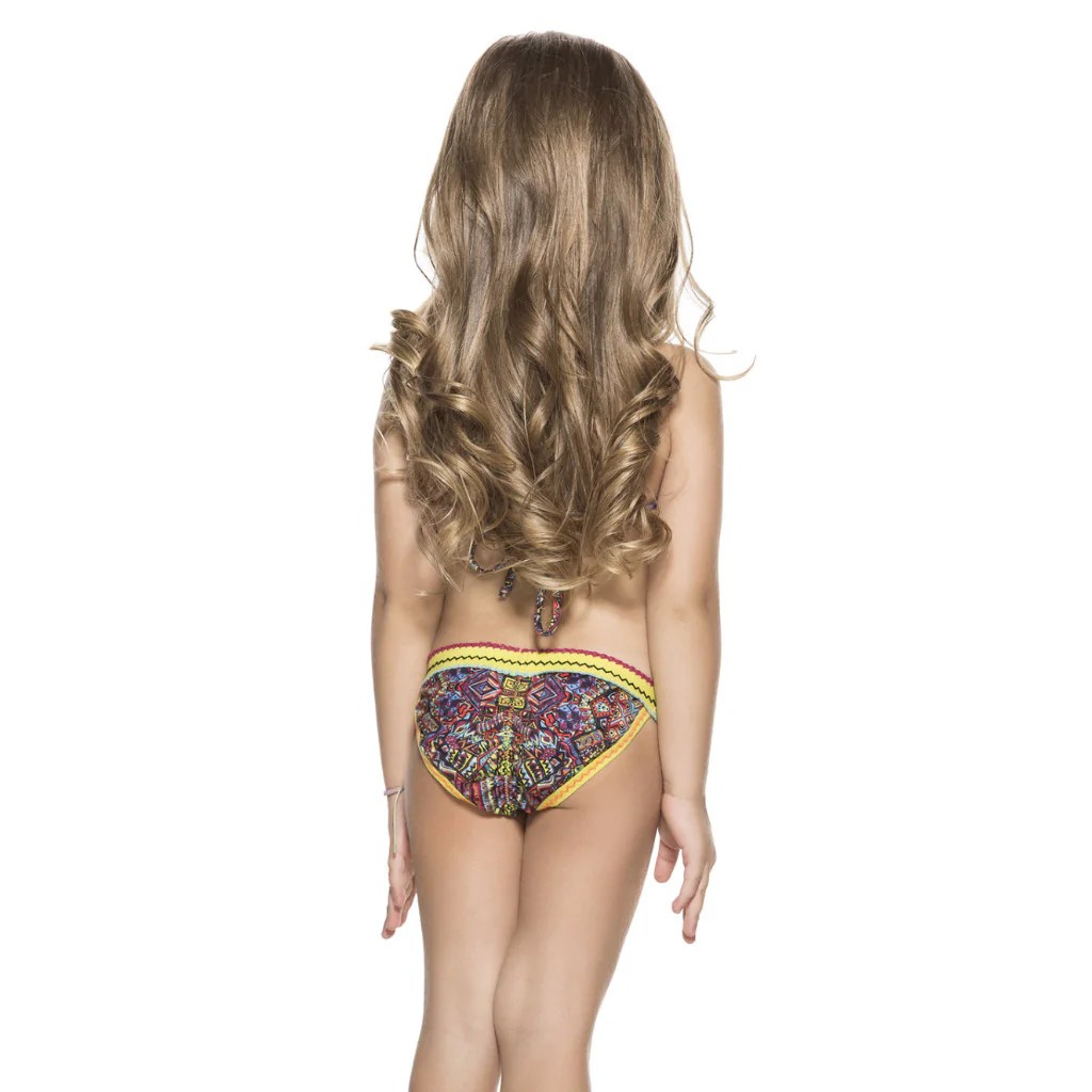 Youth Girls Swimsuits Back View