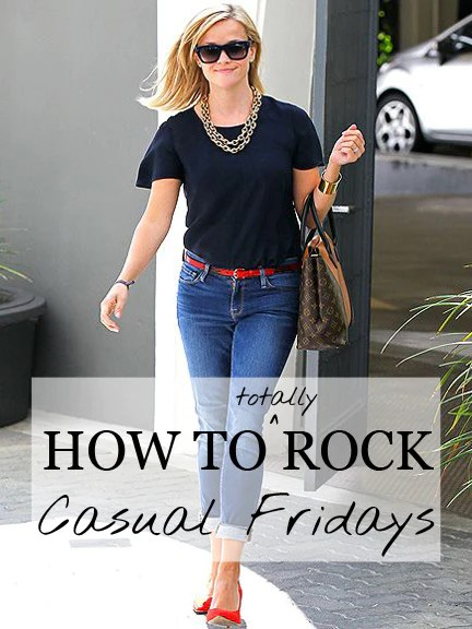 How To Rock Casual Fridays  Of Mercer