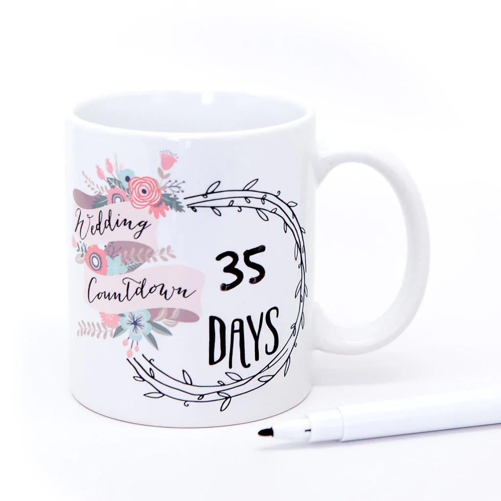 wedding mug gift set