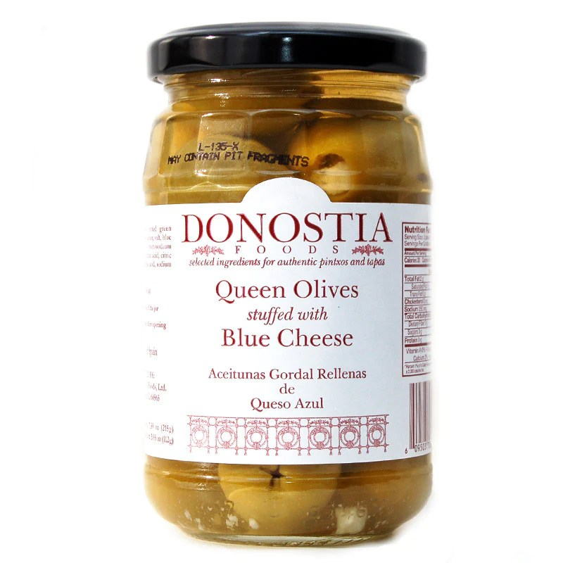 Spanish olives manzanilla and queen olives - Donostia Foods