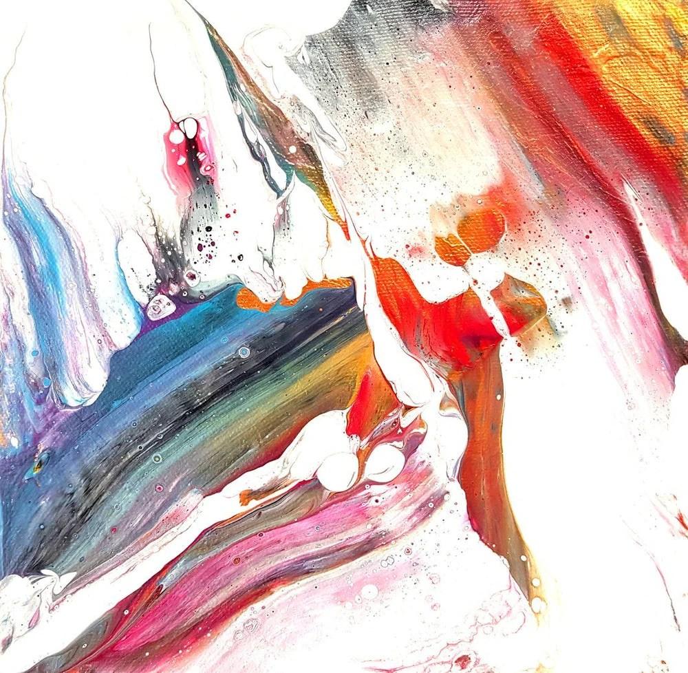 pyrrhus abstract acrylic fluid