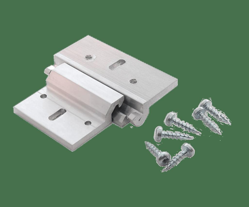 510 ceiling clip pair aluminium
