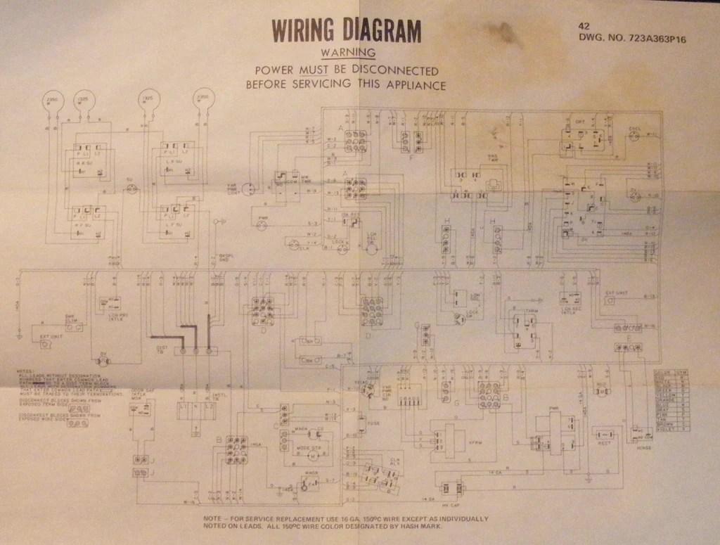 medium resolution of ge range schematic