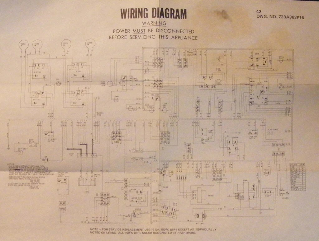 small resolution of jbv42g001ad ge range vintage wiring schematic diagram