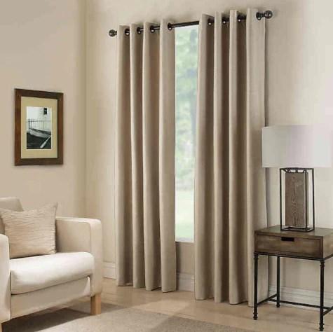paradise 95 inch room darkening grommet top window curtain panel in fl ashley bridget