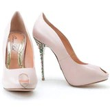 Candy 120mm Heel in Rose Leather