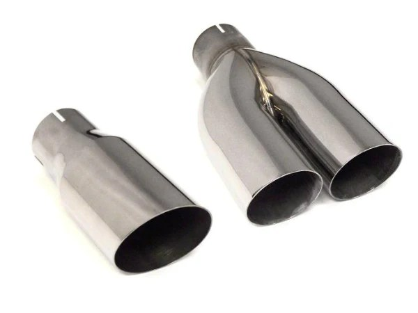 fswerks stainless steel exhaust tip single or dual angle cut