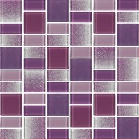 Fusion Purple Glass Mosaic Tiles | Rocky Point Tile ...