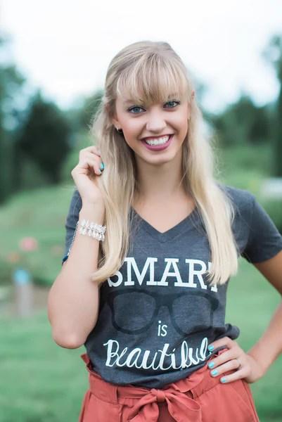 Smart Is Beautiful Nerd Girl