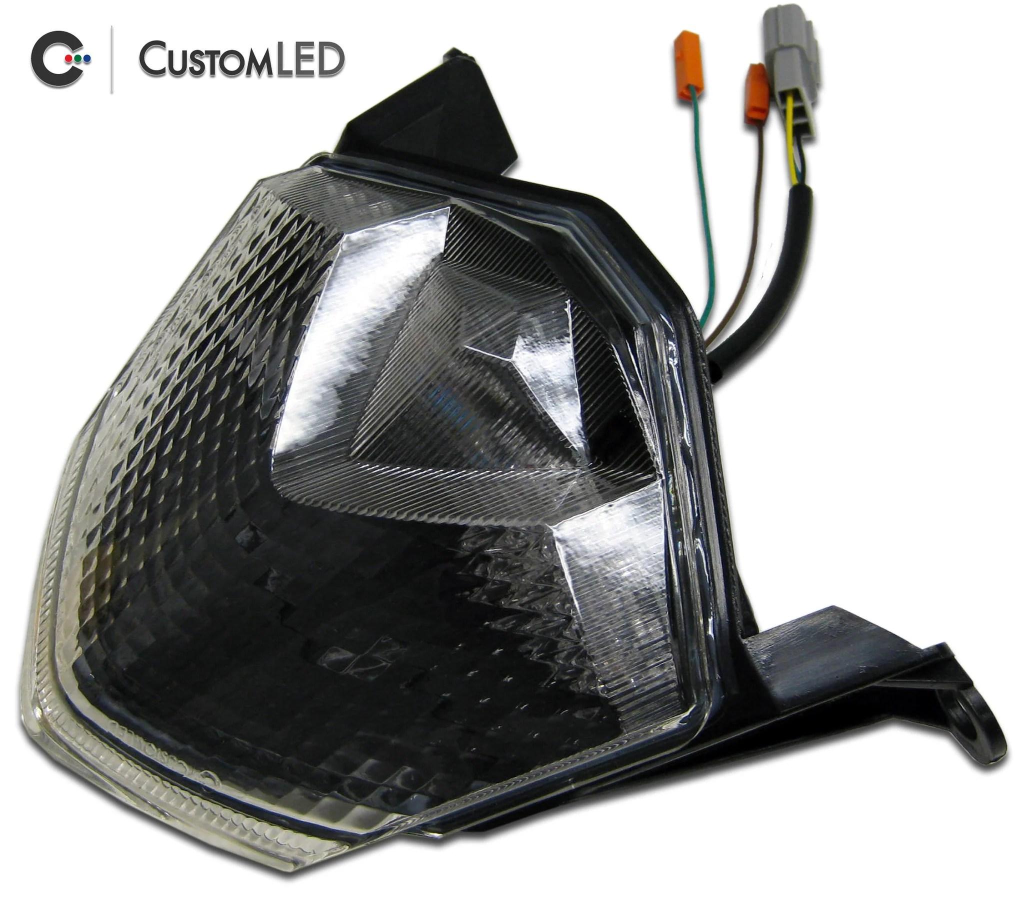 kawasaki ninja zx 10r blaster x integrated led tail light for years 2008 2009 [ 2048 x 1833 Pixel ]