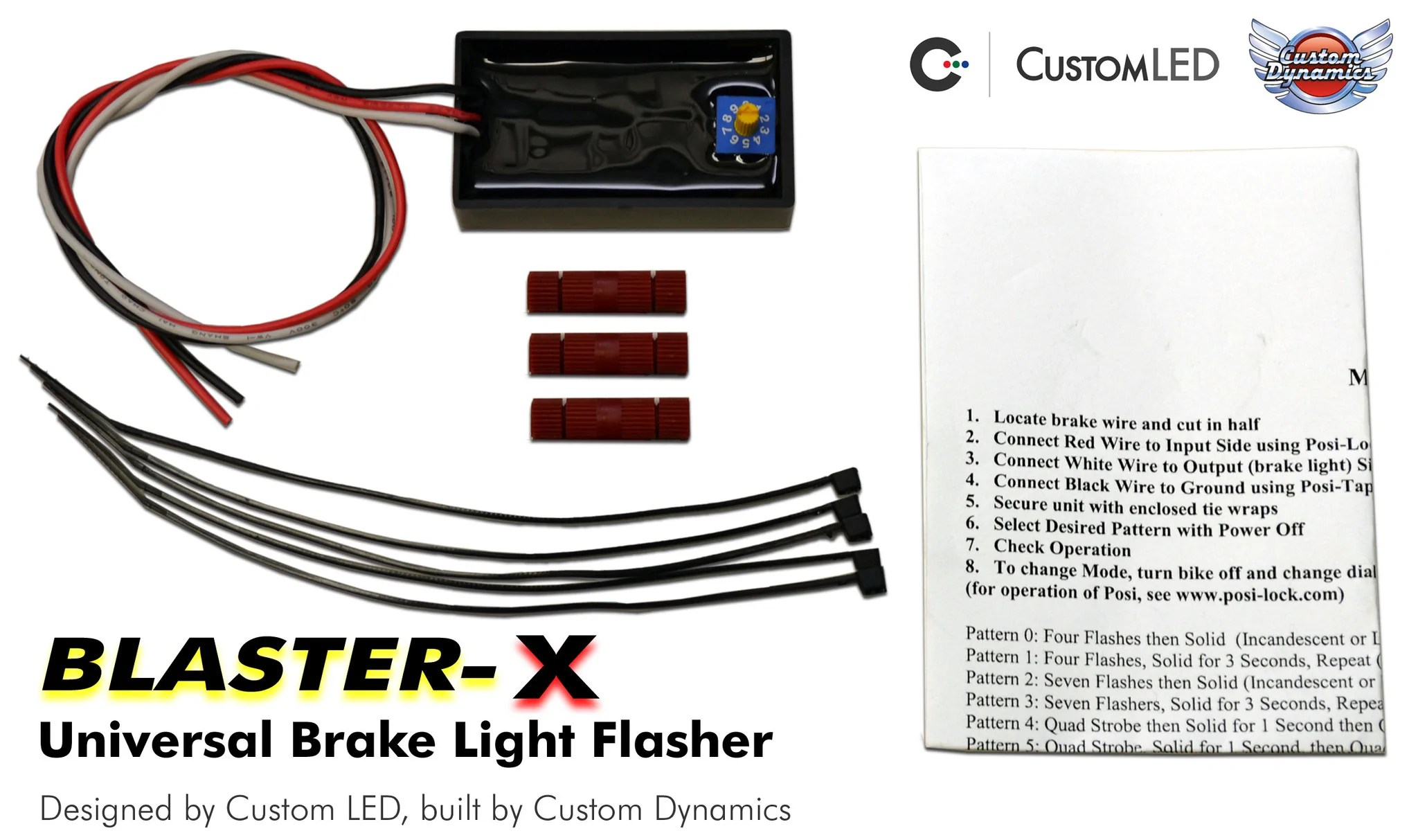 medium resolution of magic strobes brake light flasher for standard tail light systems