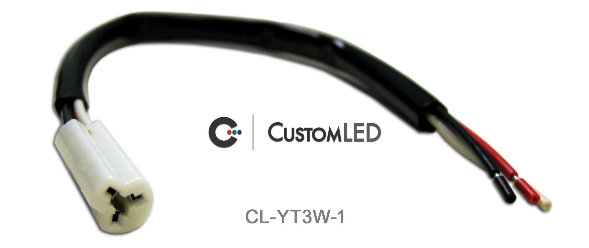 medium resolution of yamaha oem turn signal connectors 3 wire pair