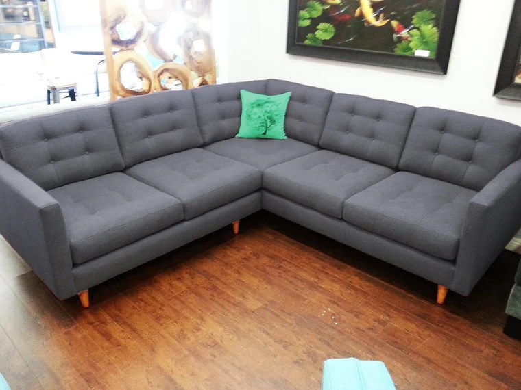 custom sectional sofa modena track arm leather sectionals urban fusion decor 96 x 2pc san diego