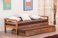 Buy Solid Wood Capital Sofa cum Bed Trundle Online in ...