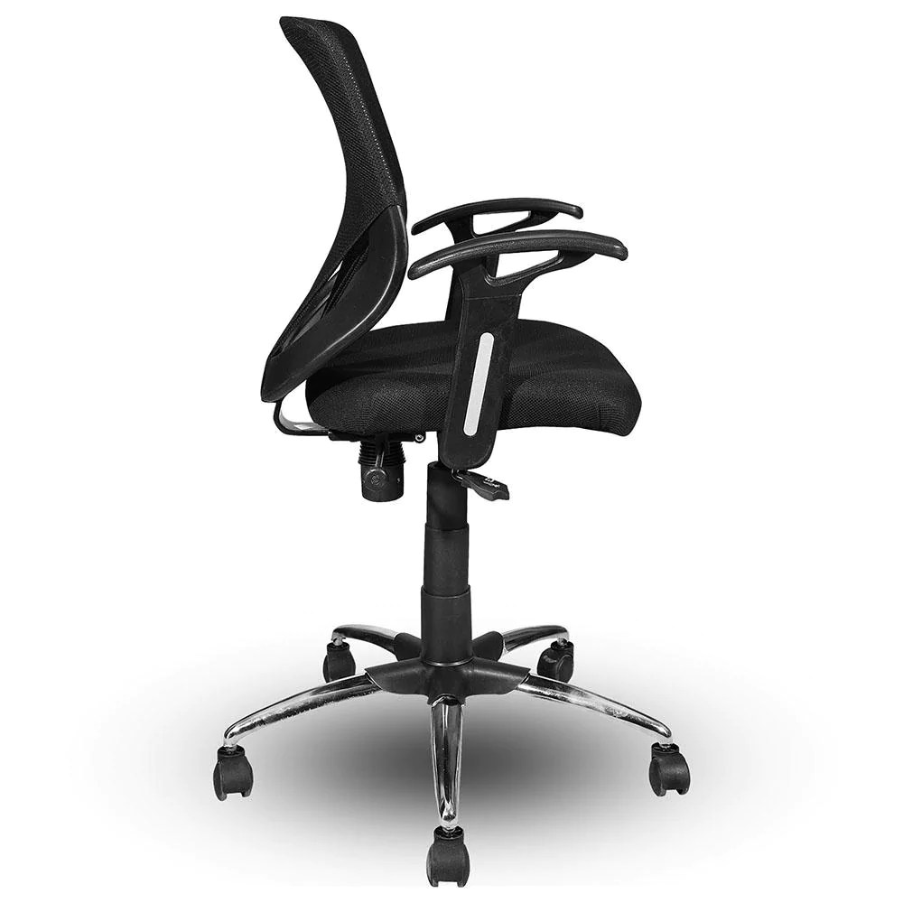 Buy Revolving Height Adjustable Mesh Ergonomic Office Chair Pushback Tilt Saraf Furniture