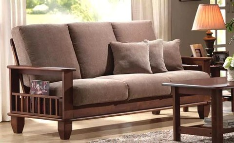 sofa seat cushions online india savoy leather costco review solid wooden sofa, insaraf.com | saraf furniture ...