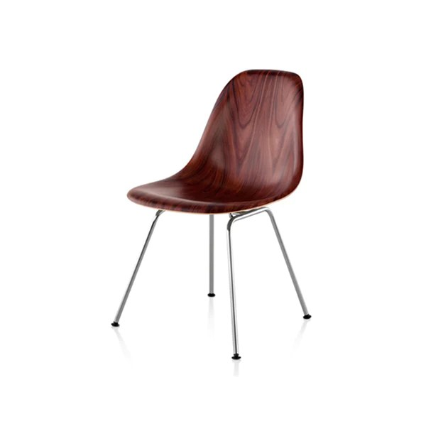 eames molded side chair rustic metal dining chairs uk herman miller wood 4 leg base alteriors