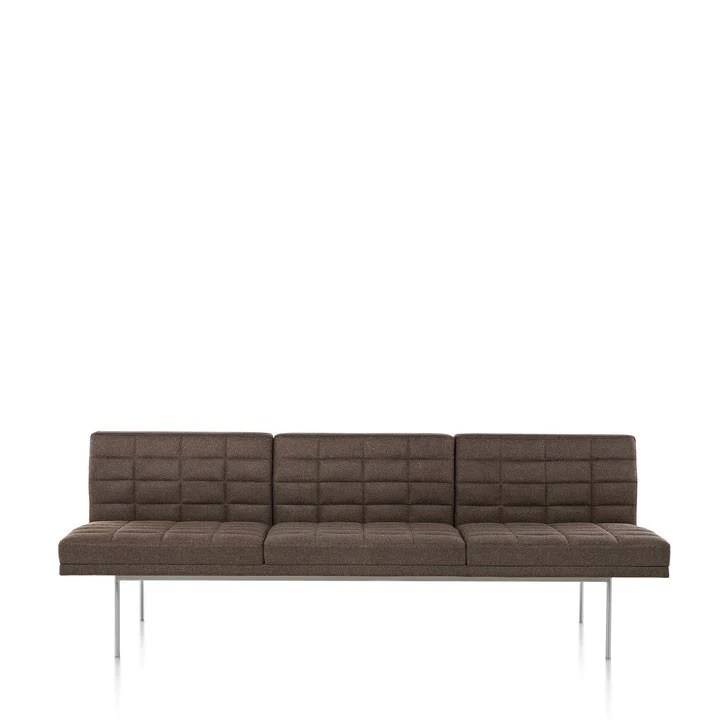 herman miller tuxedo sofa armless sectional pet protector geiger quilted alteriors