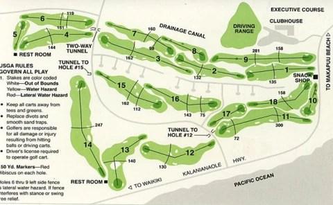 Hawaii Kai Golf Course Hawaii Tee Times