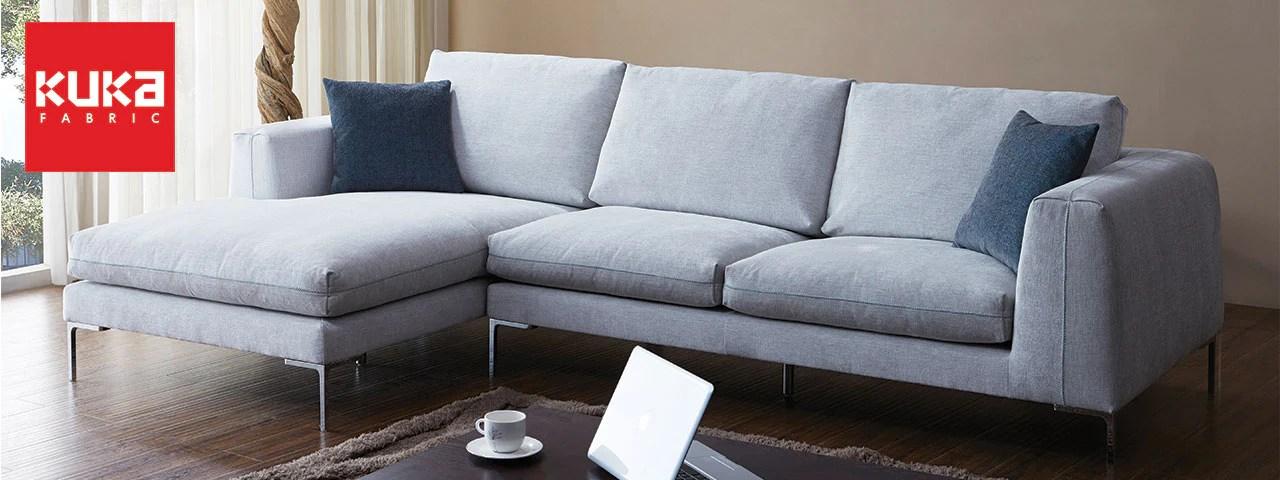 Kuka Fabric Sofas  Modern  Scandinavian Designs  PicketRail Singapores Premium Solid Wood