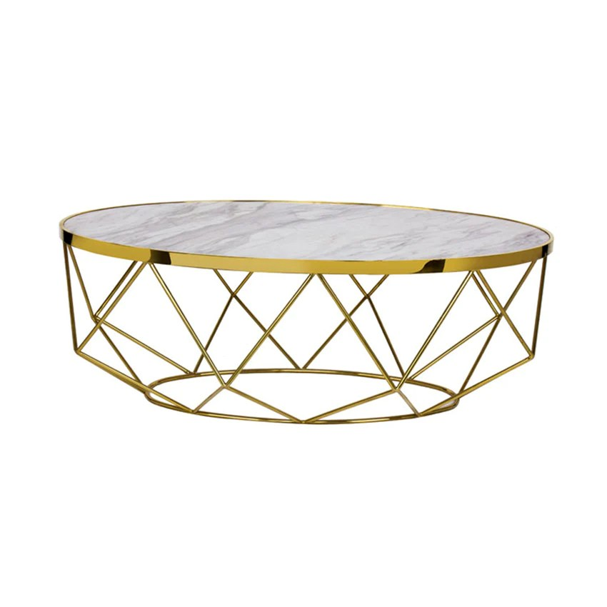 modern marble coffee table gold cocktail tables white