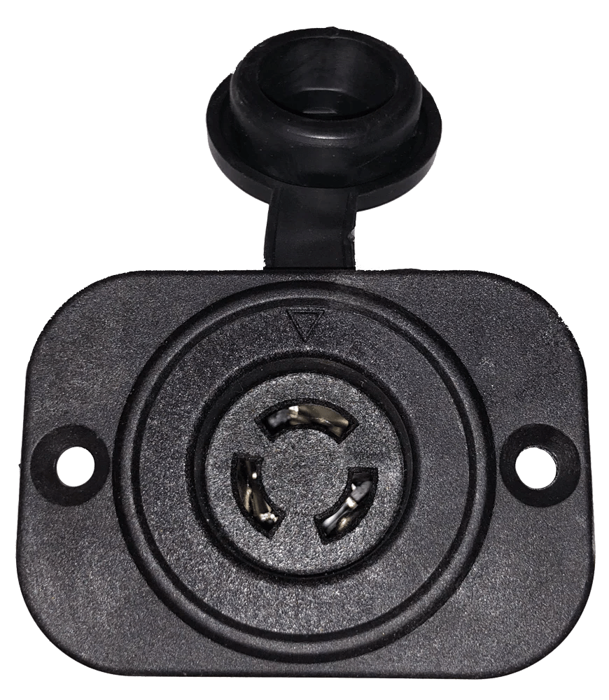 small resolution of  marinco connectpro trolling motor plug and receptacle 12vcp
