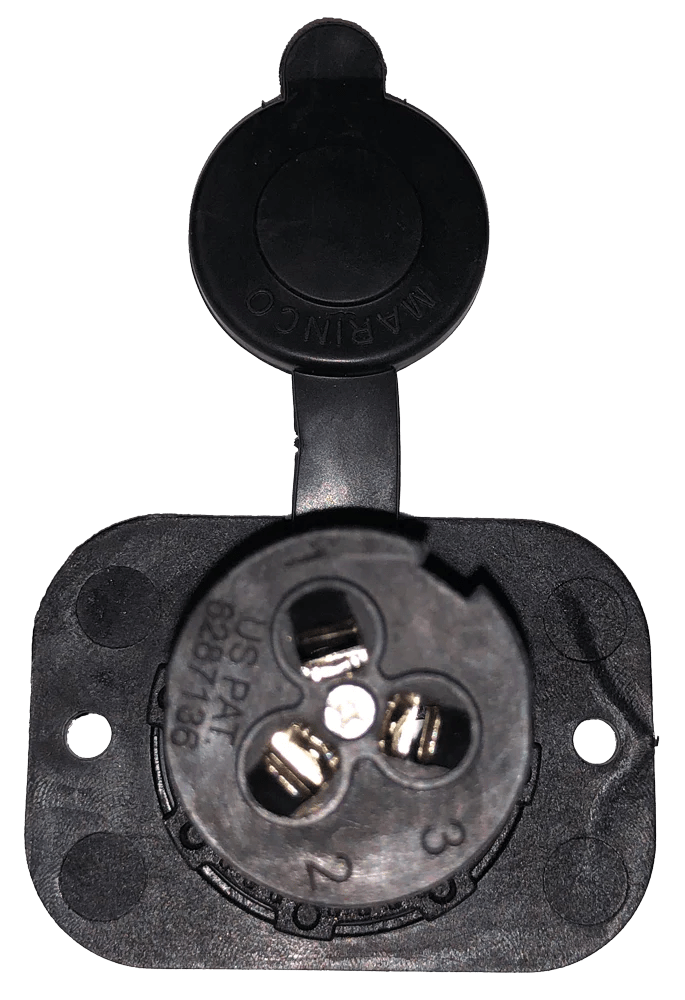 Motor Wiring Diagram Together With Marinco Trolling Motor Plug Wiring
