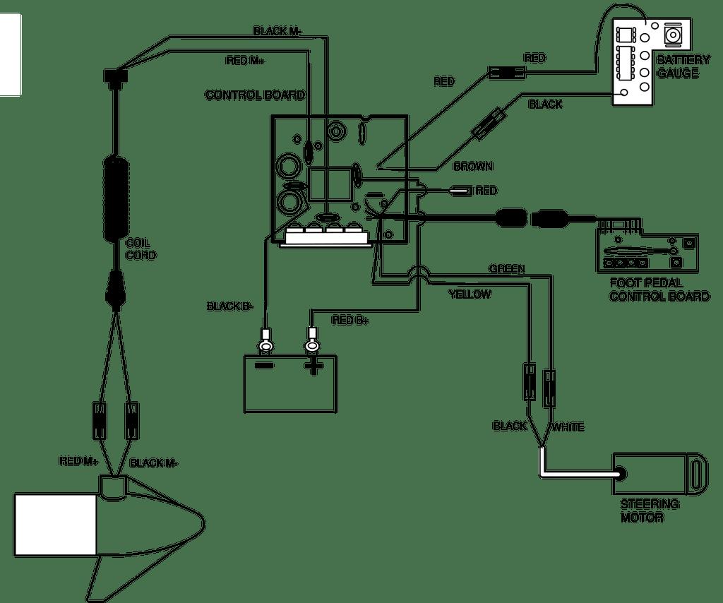 medium resolution of  minn kota 12 volt power drive control board 2304043