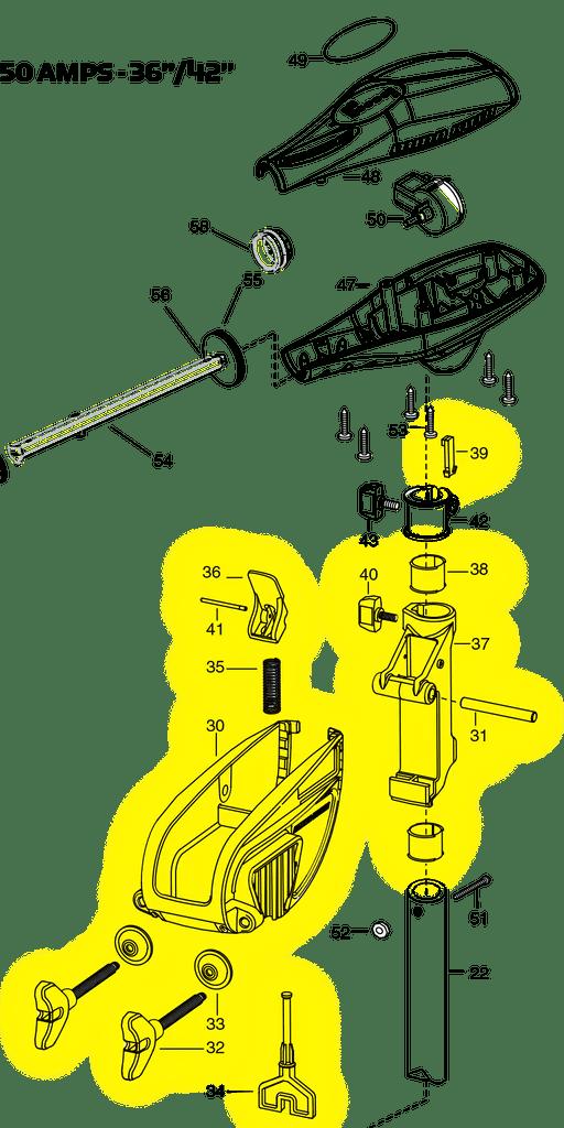 Diagram And Parts Homemade Trolling Motor Mount Minn Kota Trolling