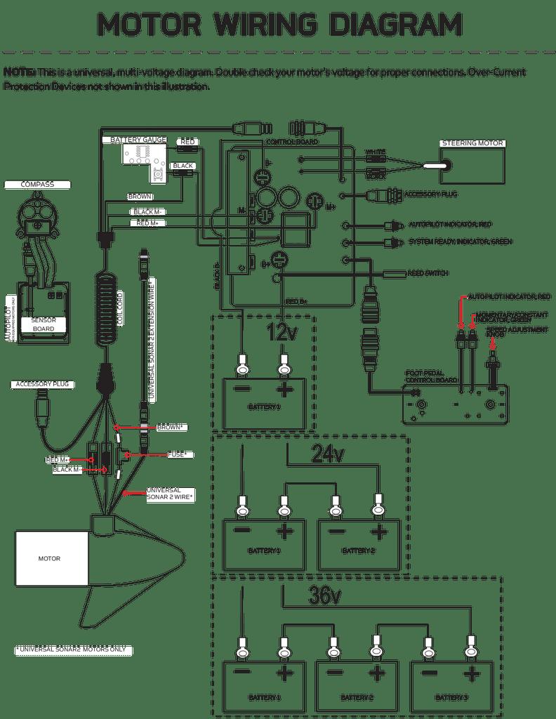 [DIAGRAM] Minn Kota 24 Volt Wiring Diagram FULL Version HD
