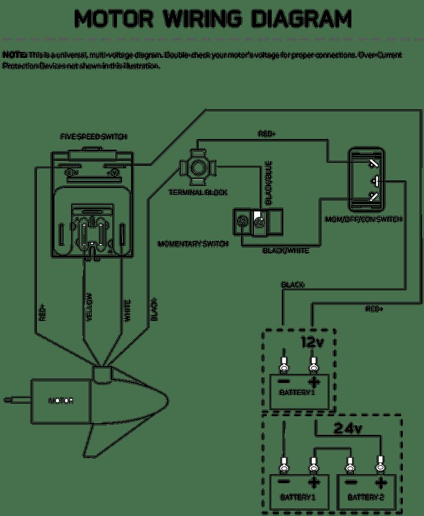 Minn Kota 5 Speed Switch 2884026 | Northland Marine