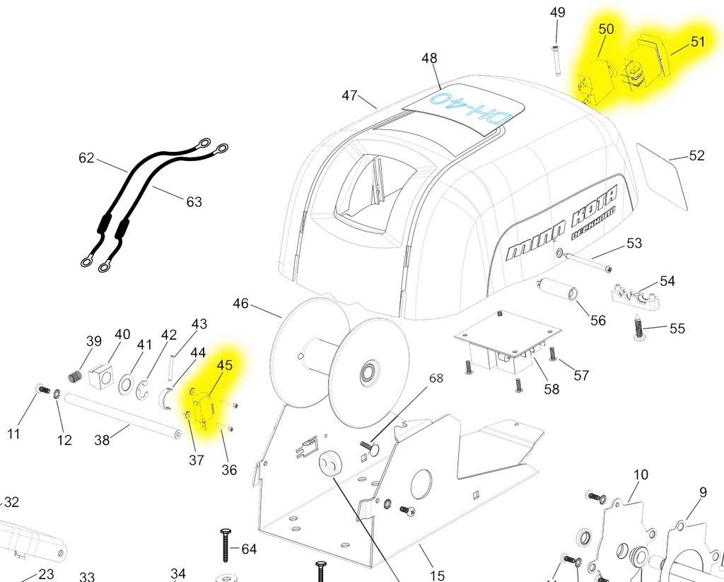 medium resolution of minn kota deck hand 40 switch kit dh40swkit northland marineminn kota deck hand 40 switch kit