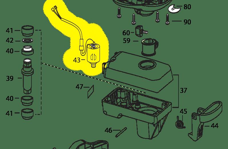 Minn Kota 12 Volt Power Drive & Power Drive V2 Drive Housing Motor 277 | Northland Marine