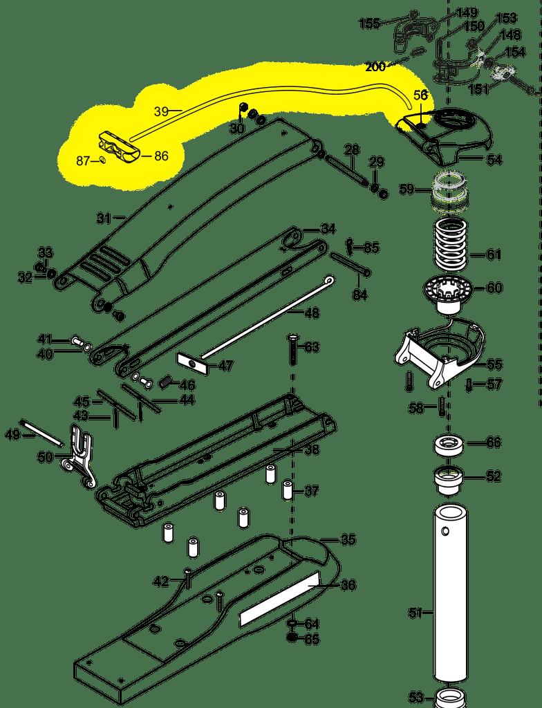 hight resolution of minn kota at edge maxxum rope handle kit r hkitat m northland minn kota edge trolling motor parts diagram minn kota trolling