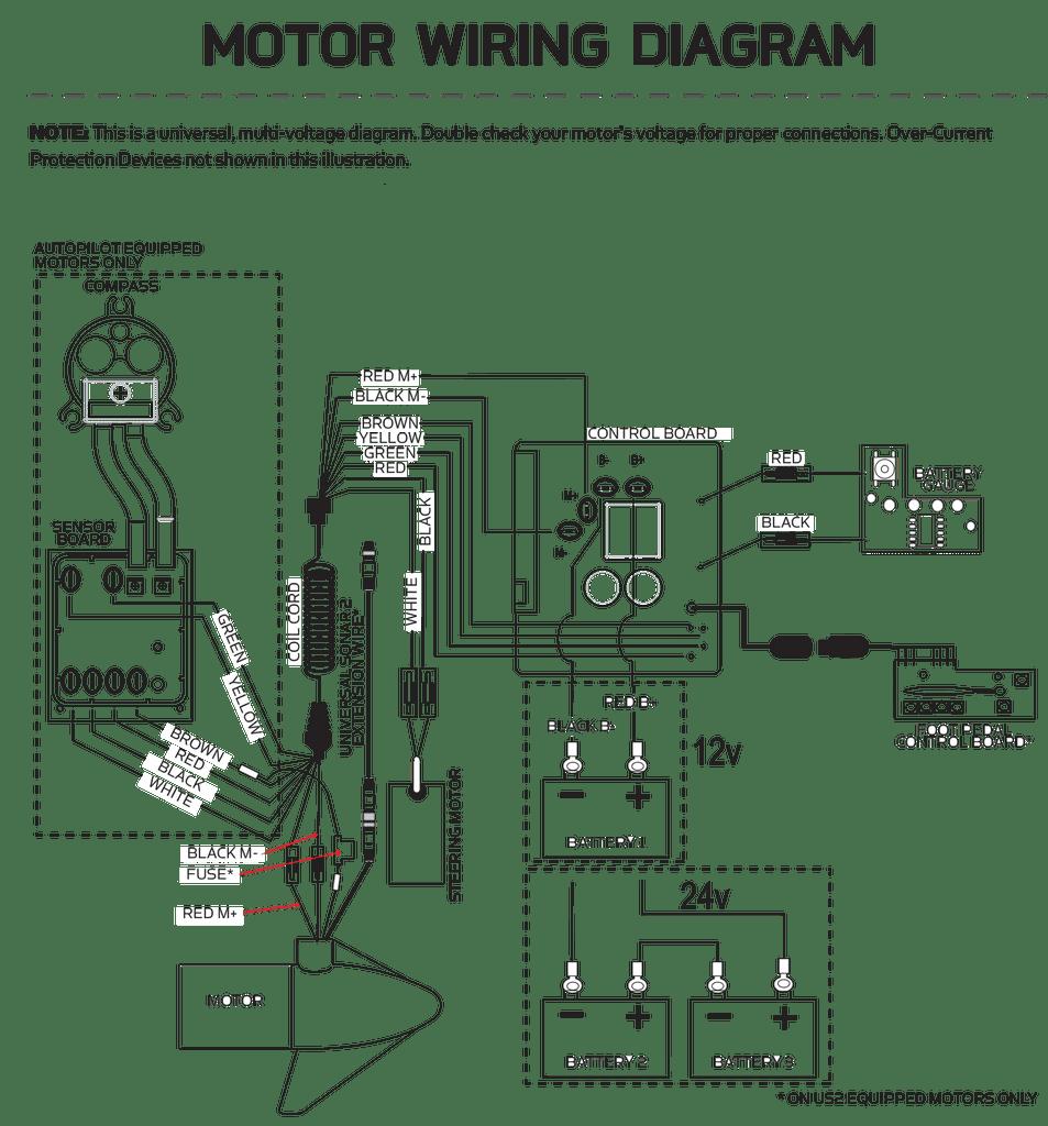 Minn Kota 12 Volt Power Drive V2 & RTSP Control Board w AP 2884057 | Northland Marine