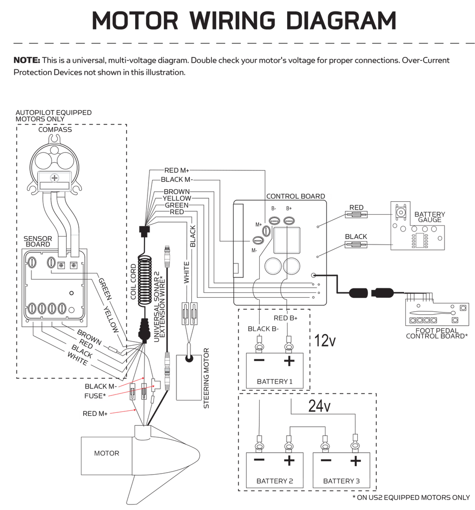 Minn Kota Wiring Diagram & CTEK MXS15 Battery Charger 12V 15A Incl
