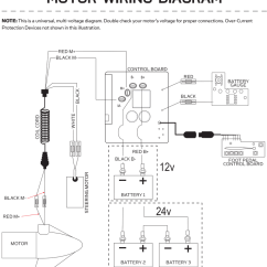 Minn Kota Riptide 55 Wiring Diagram Guitar 2 Humbucker 1 Volume Tone 12 Volt Power Drive V2 & Rt/sp Control Board 2884055 | Northland Marine