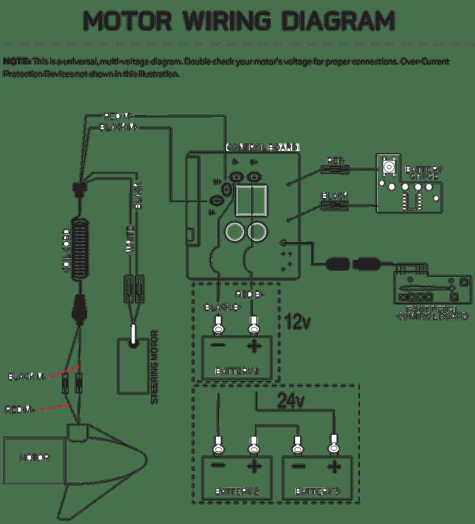 medium resolution of johnson trolling motor 12 volt wiring diagram diagram data schema omc