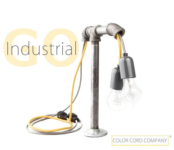 DIY Industrial Desk Lamp  Color Cord Company