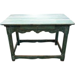 Kitchen Work Tables Design Plans Antique Scandinavian Painted Pine Table