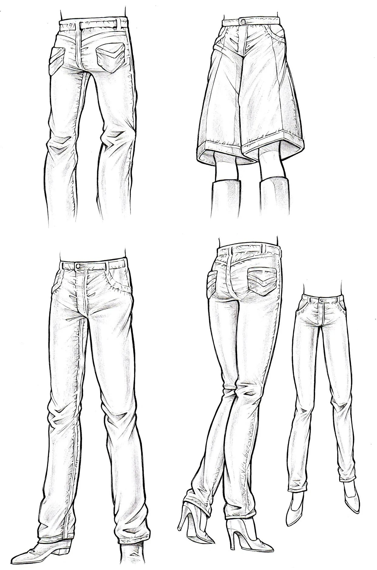 How to Draw Clothes (Part 3)