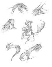draw hair part 1 manga