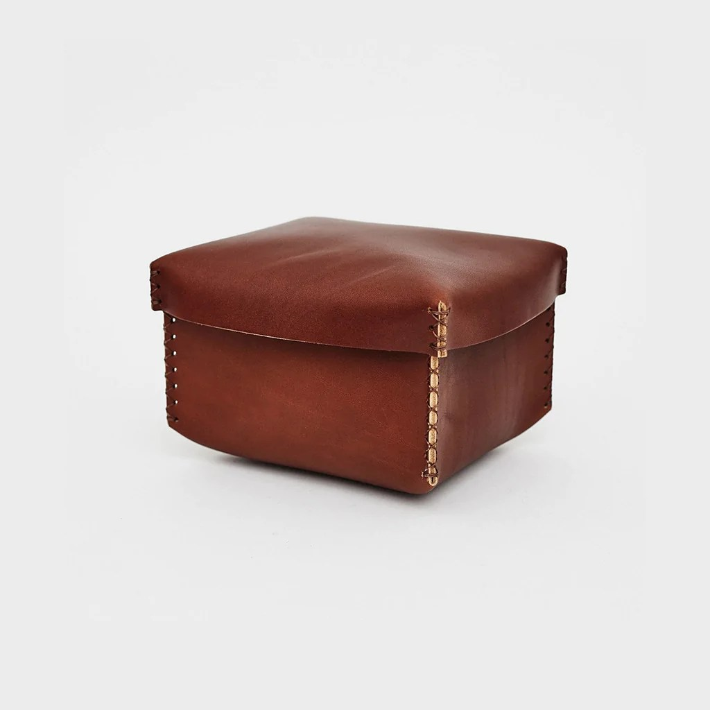 leather archival box
