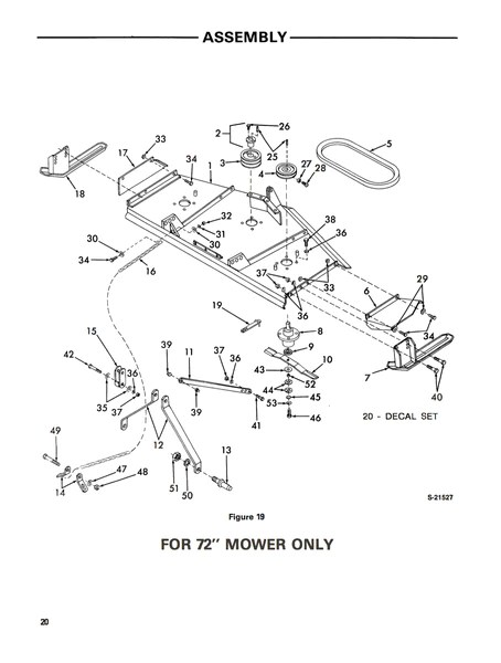 Ford Series 930A Rear Mounted Rotary Mowers (48