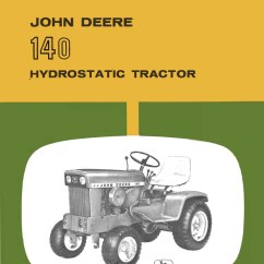 John Deere 140 Wiring Diagram Heat Pump Thermostat Schematic Tractor 170 H3 Of The Garden
