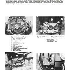 Case Ih Wiring Diagram Rotary Encoder Massey Ferguson Mf 255, 265 And 275 Tractors - Operator's Manual